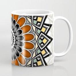 Floral-like mandala Coffee Mug