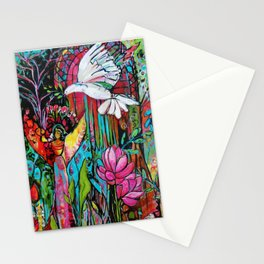 Peace, Love, Understanding Stationery Cards