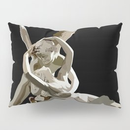 Psyche revived by Cupid´s kiss Pillow Sham