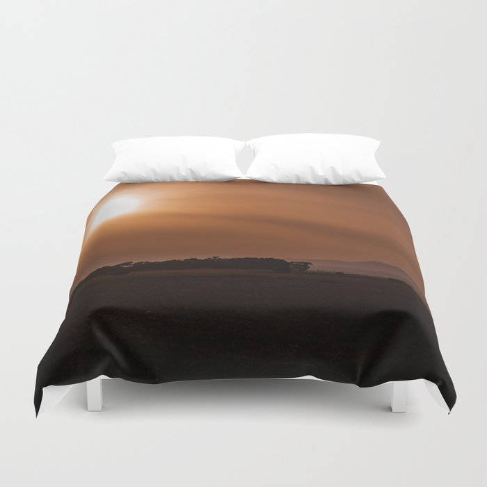 Sun Gazing Duvet Cover