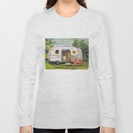 Vintage Airstream Long Sleeve T-shirt