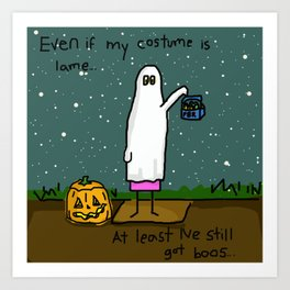 Ghosts At Parties Art Print