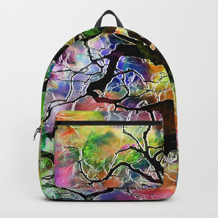 Frosted Tree Backpack