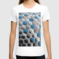 honeycomb T-shirts featuring Honeycomb by amanvel