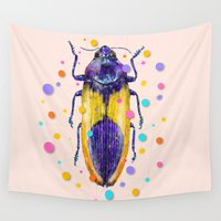 insect Wall Tapestries featuring INSECT IX by dogooder