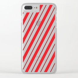 The Return of the Candy Cane - Christmas Illustration Clear iPhone Case