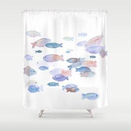 Little fish Shower Curtain