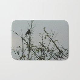 Bird in the Brush Bath Mat