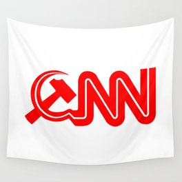 Communist News Network Wall Tapestry
