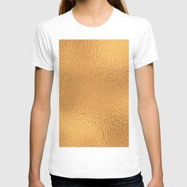 Simply Metallic in Bronze T-shirt