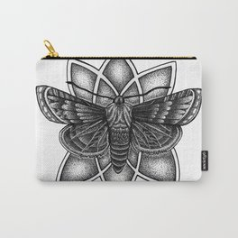 Moth Mandala Carry-All Pouch