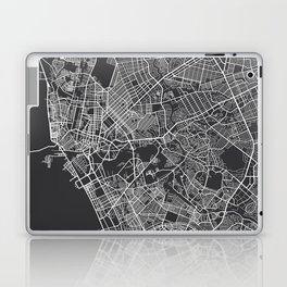 Manila Map, Philippines - Gray Laptop & iPad Skin