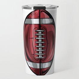 Gridiron Football Icon Travel Mug