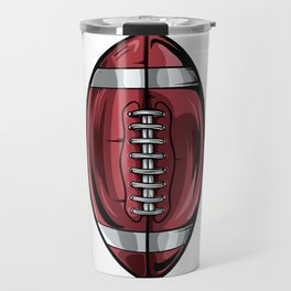 Gridiron Football Icon Travel Mug