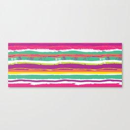 Paint Stripes Canvas Print