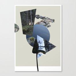 Vinnesvatnet (Lake Vinnes) Canvas Print