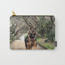 Fluffy Puppy Love Carry-All Pouch