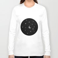 constellations Long Sleeve T-shirts featuring constellations I by TRANSLÚCIDO