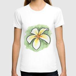 Frangipani 1 T-shirt