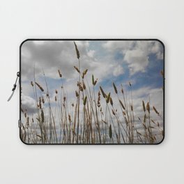 Wheat and Clouds Laptop Sleeve