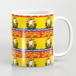 flag of New Brunswick 4 -Brunswicker,Néo-Brunswickois,moncton,fredericton,acadia,miramichi,john Coffee Mug