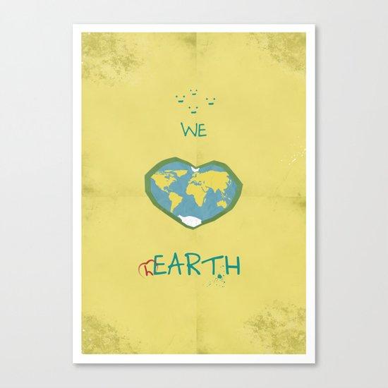 we love hEARTH Canvas Print