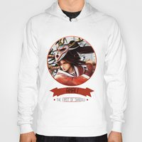 league of legends Hoodies featuring League Of Legends - Akali by TheDrawingDuo