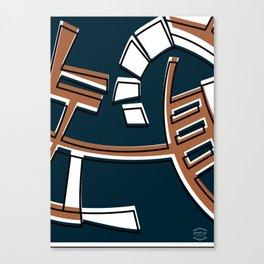 Talleres Facultad de Ciencias -Detail- Canvas Print