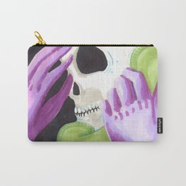 phone skull Carry-All Pouch