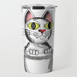 Do not say cat, unless you have it in the sack Travel Mug