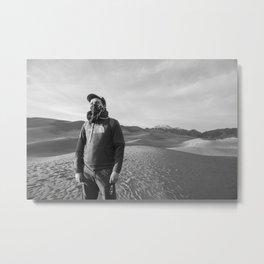 The Wasteland Metal Print