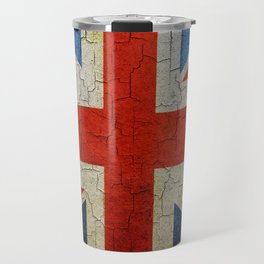 Vintage United Kingdom flag Travel Mug