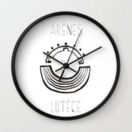 Arenes de Lutece Wall Clock
