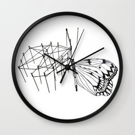 butterfly effect TWO Wall Clock