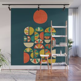 Jumpy Hills Wall Mural