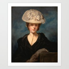 "Sir Joshua Reynolds ""Miss Mary Hickey"" Art Print"