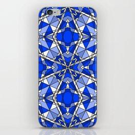 Blue Sapphire iPhone Skin