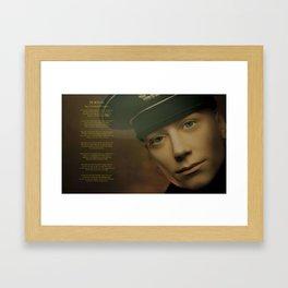 For the Fallen by Laurence Binyon Framed Art Print