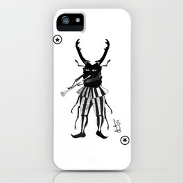 BLACK JOKER OF HAMELIN iPhone Case