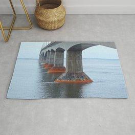 Under the Bridge in PEI Rug
