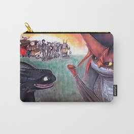 Toothless and Cloudjumper - Dragons Carry-All Pouch