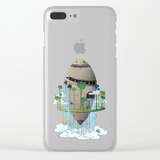 The Ancient Clear iPhone Case