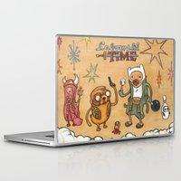 lebowski Laptop & iPad Skins featuring Lebowski Time by Alex Willan