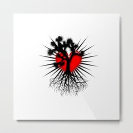 Joshua Tree Heart of the Hi Desert by CEYES Metal Print