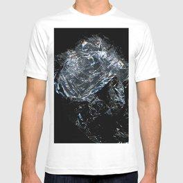 Clear Crumpled Plastic T-shirt