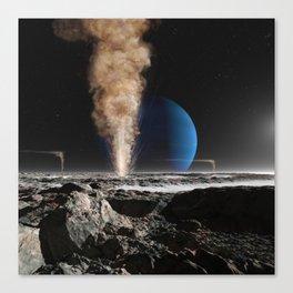 Geyser on Triton Canvas Print