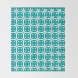 Moroccan Mix No.4 Throw Blanket