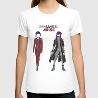 ghost in the shell T-shirts featuring Ghost in the Shell Arise by Krbshadow