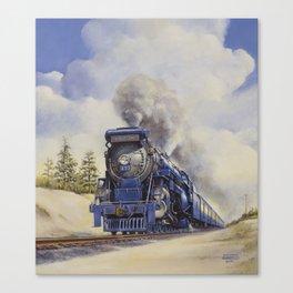 The Seashore's Finest Train Canvas Print