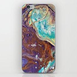 Copper Love Geode iPhone Skin